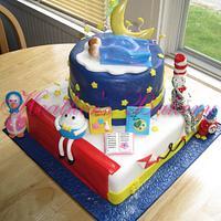 Storybook Theme Cake