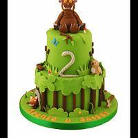 Oh Help! Oh No! It's a Gruffalo! Cake