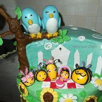 Disney Hive themed cake
