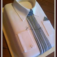 Shirt and Tie Cake