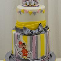Dumbo Birthday Cake