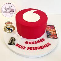 Vodafone Best Performer Cake