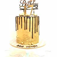 The gold digger cake !