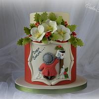 'Dear Santa …….' Christmas Cake by CakeHeaven by Marlene