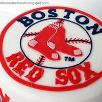 Boston Red Sox Cake by Angela, SugarSweetCakes&Treats