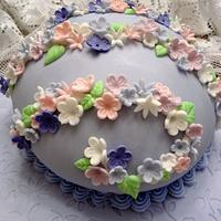 Easter Egg Cake by Susan Russell