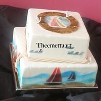 Nautical Cake by Blueeyedcakegirl