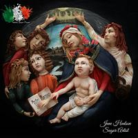 Madonna del Magnificat - Sandro Botticelli - Italian Sugar Dream Collaboration