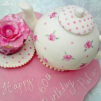 Time for Tea - Teapot Cake
