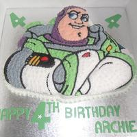 walt disney toy story buzz lightyear birthday cake