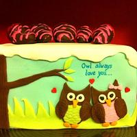 Owl Always Love You by Cakes by Jo-Anne