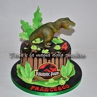 Jurassik Park cake by Daria Albanese
