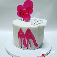 High heels cake! 👠