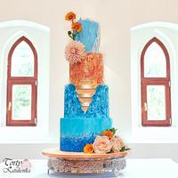 Colorfull Wedding Cake