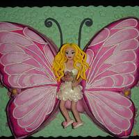 Butterfly-Fairy cake