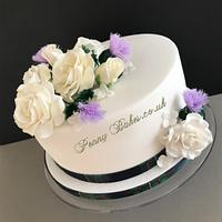 Ferguson clan wedding cake!  by Penny Sue