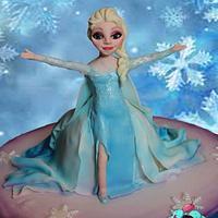 Elsa frozen x