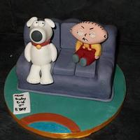 family guy cake