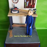 Dad's workshop by Nicole - Just For The Cake Of It