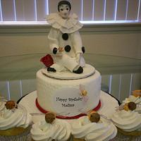 Pierrot Cake And Cupcakes