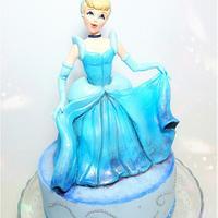 """Cinderella""...♡ by Azzurra Cuomo Cake Art"
