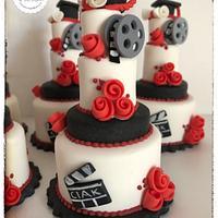 mini cake laurea