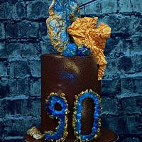 Cake for 90th anniversary