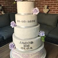 Second weddingcake