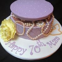 Vintage Jewelry Cake