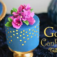 Gold Edible Confetti tutorial
