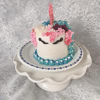 """Tiny Birthday Cake by June (""""Clarky's Cakes"""")"""