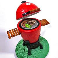 3D Barbeque Cake