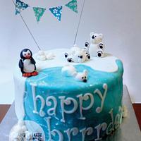 North Pole birthday