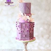 ABED MAHFOUZ Inspired Cake for Cake Central Magazine