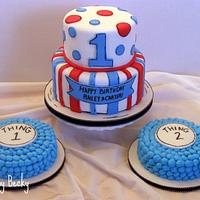Seuss Themed First Birthday for Twins!