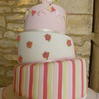 Whimsical Teacup Wedding Cake  by Samantha Tempest