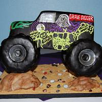 Grave Digger Cake by Nicole Taylor