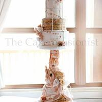 Vintage elephant & Birdcage Wedding