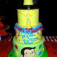 Curious George Birthday Cake by Karen
