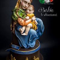 Madonna della Seggiola (Madonna of the chair) - Raffaello Sanzio - Italian Sugar Dream Collaboration