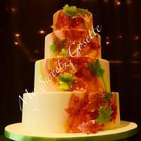 Autumn Cake by Cosette