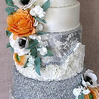 Shine Bright.. wedding cake