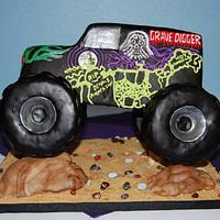 Grave Digger Cake