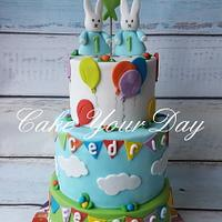 Twins Miffy cake