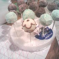 My latest craze in cake pops