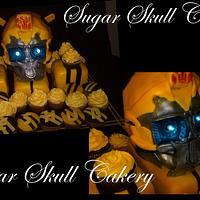 Transformer Cake (Bumblebee)