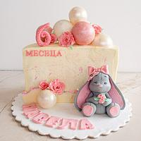 Half year birthday cake by TortIva