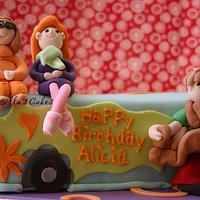 Scooby Doo Cake by Priscilla's Cakes