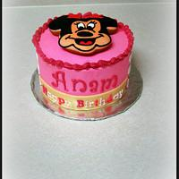 Minnie Mouse Cake by FiasCreations