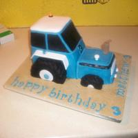 Tractor Cake by jens cakes